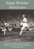 Happy Birthday Athletics Lover - 2